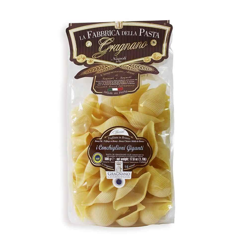 i Conchiglioni Giganti La Fabbrica della Pasta di Gragnano