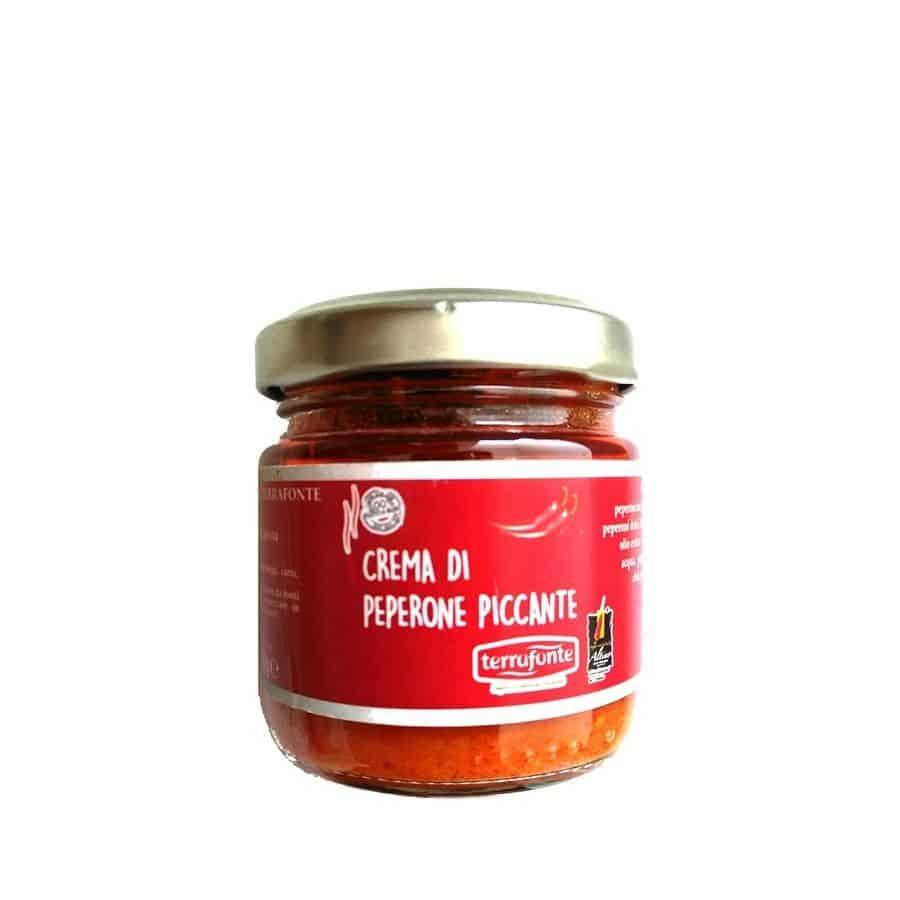 Crema di Peperone Piccante Terrafonte