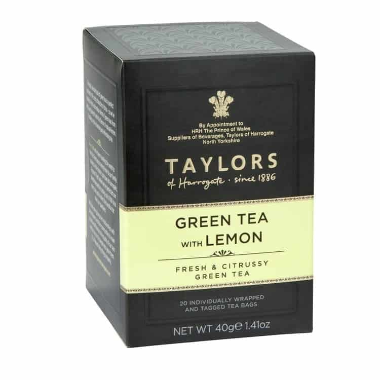 Green Tea with Lemon - Taylors of Harrogate